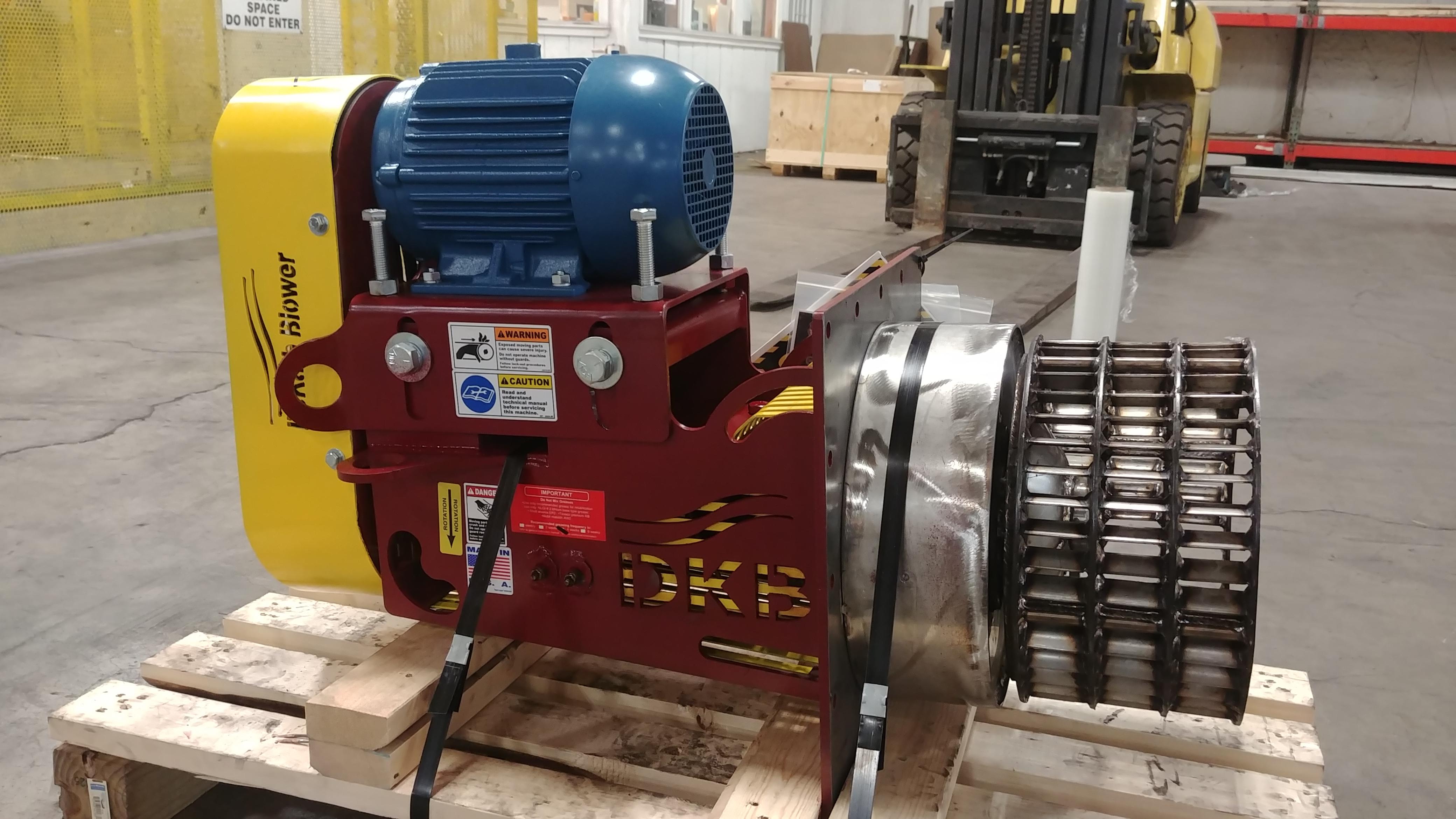 High Heat Blower : Custom high temperature blowers degf fhd series