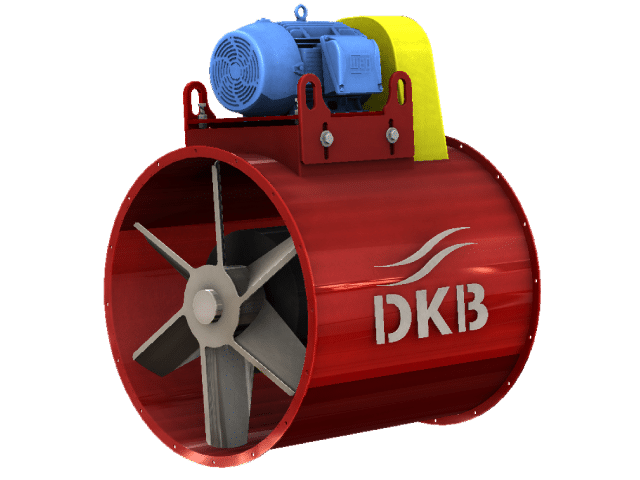 Axial Flow Blower : Dekalb blower pax series axial flow industrial fan units
