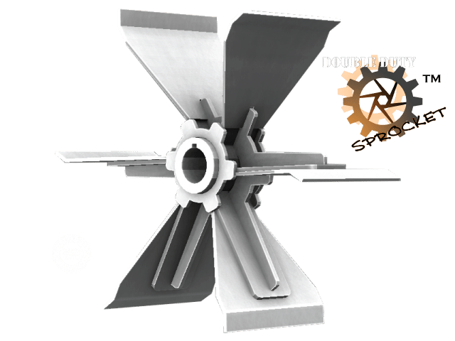 Radial Blade Impeller Design