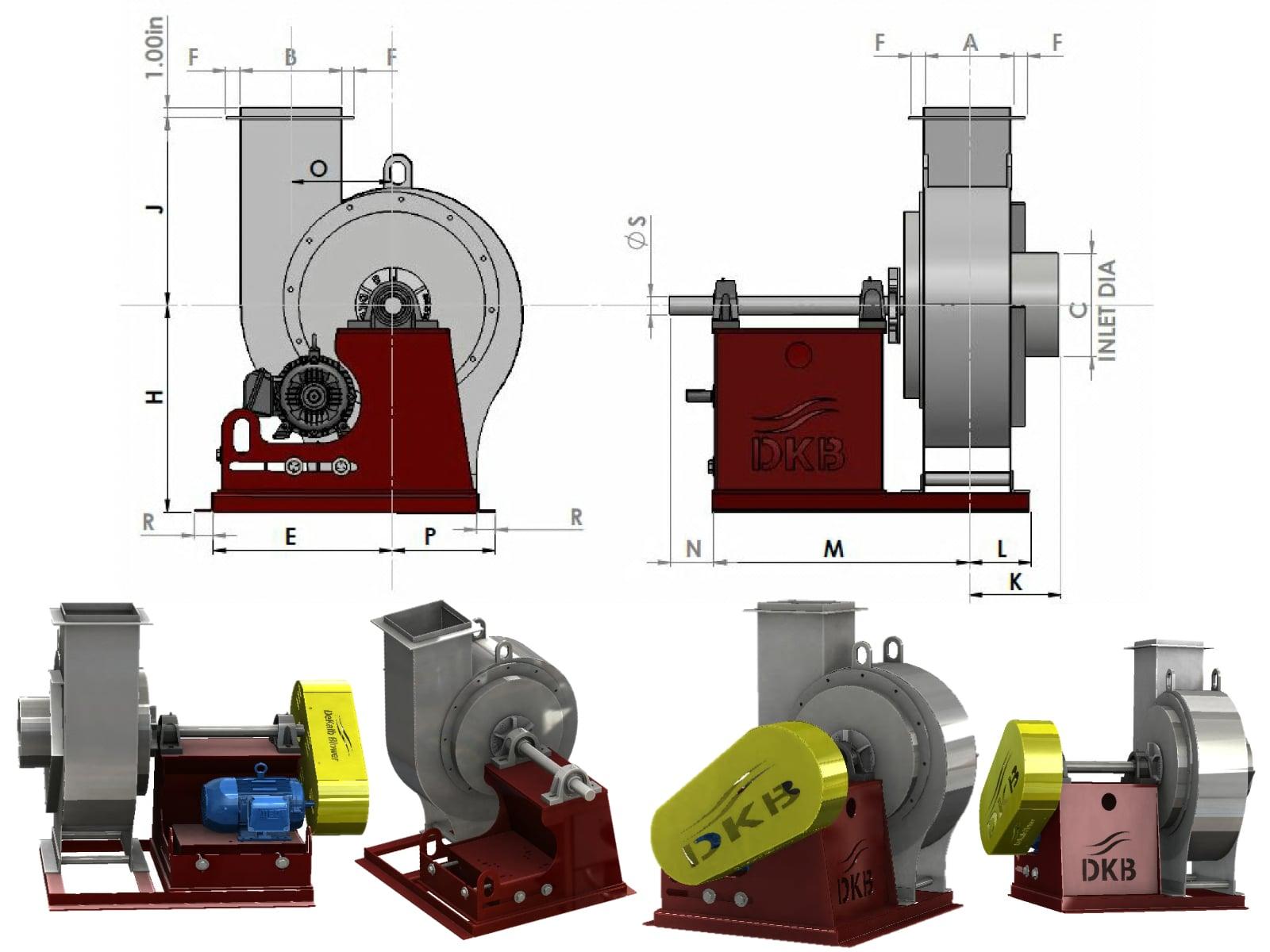 DKB | FHD Un-Insulated Exhaust Assembly