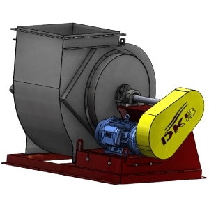 BT Exhaust Blowers Fully Insulated Housings